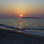 2013瀬底ビーチの夕陽