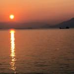 2016瀬戸内海の朝陽