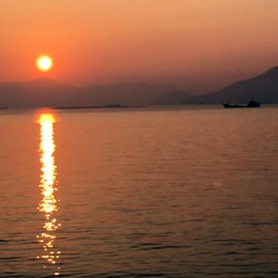 瀬戸の朝陽